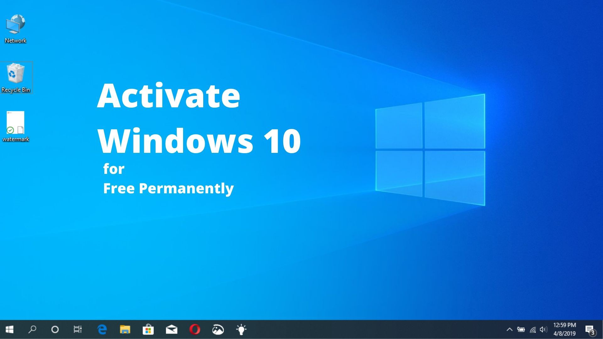 How to activate Windows with Toolkit or with KMSpico easily